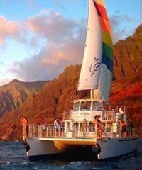 Na Pali Sunset Dinner Cruise 4 Hour - Blue Dolphin Charters