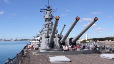 Battleship Missouri and Historic Celebrations Commemorating the end of WWll