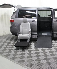 Boogie On Wheelchair Van is a Luxury Toyota Sienna XLE Genesis ADA Conversion Vehicle