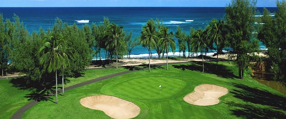 Relax and enjoy world class golf courses in Hawaii.