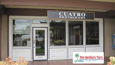 Cuatro Restaurant in Kihei