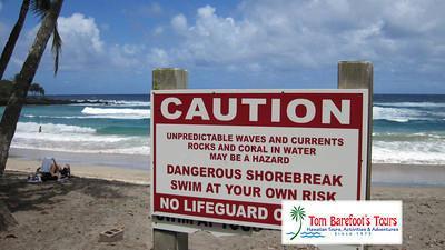 Ocean Caution