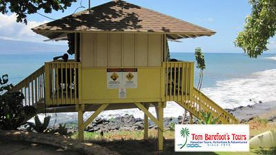 Life Guard Tower at Hanakao'o