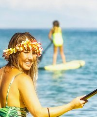 Private Olowalu SUP and Snorkel Tour