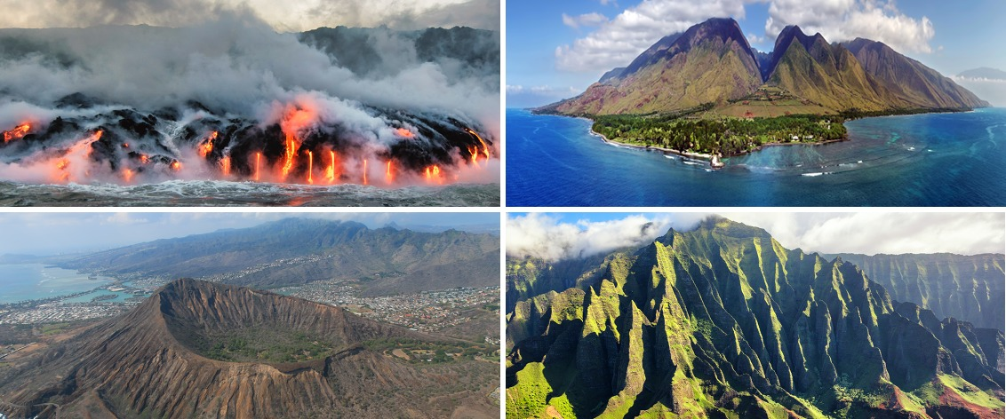 Hawaii Helicopter Tours provide amazing views of Hawaii from the air.