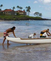 Book the Outrigger Sunset 60 Minutes with Hawaiian Outrigger Experience