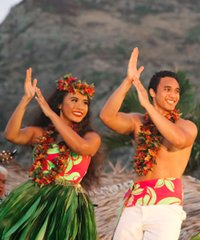 Partake in Cultural activites, a buffet dinner and see authentic Lu'au show