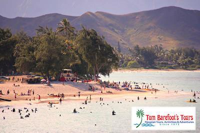 Kailua Beach is the most popular beach on the Windward side