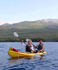 Reserve the Paddle, Snorkel, Learn to Surf with Kelii's Kayak Tours.