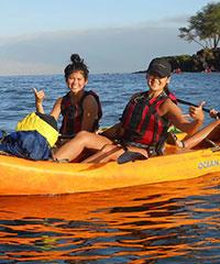 Book the South Shore Turtle Adventure (2.5 hrs) with Kelii's Kayak Tours