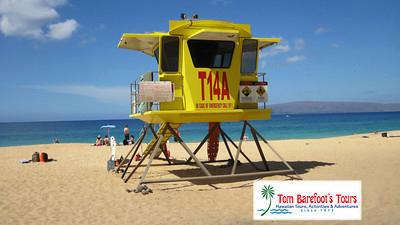 Makena Lifeguard Tower