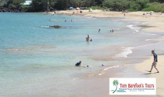 Maluaka Beach is one of the great South Maui beaches