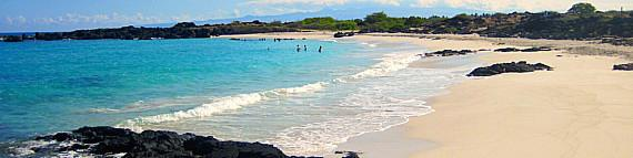 Most Picturesque Beach on the Big Island: Maniniowali Beach
