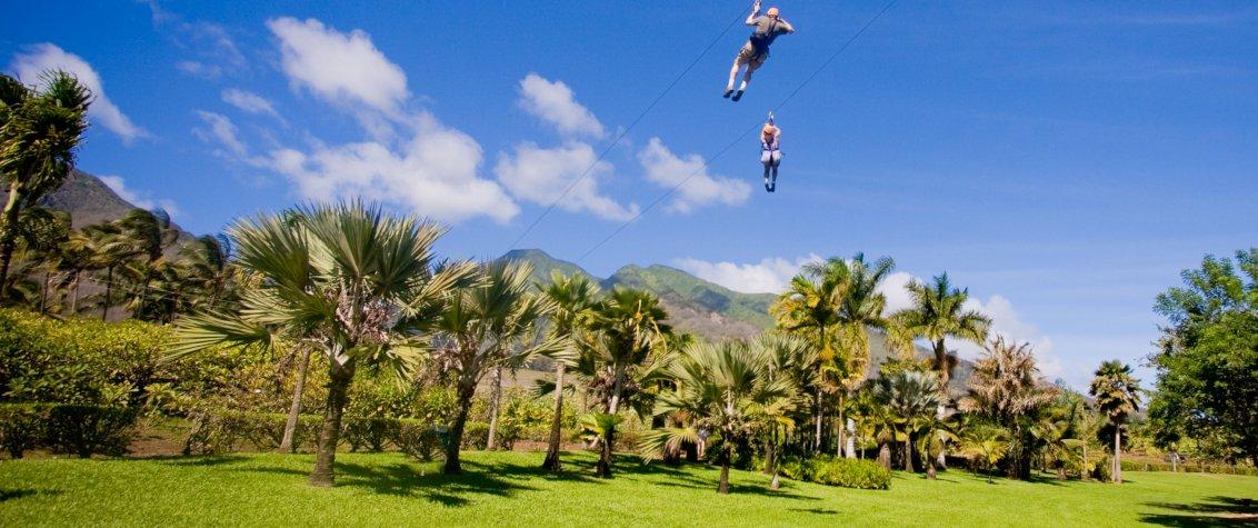 Maui Zipline Tour at Maui Zipline Adventures