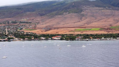 Maui's 'Lahaina Town', the original capitol of the Hawaiian Kingdom.