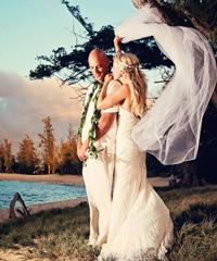 Kauai - A Simple Beach Wedding