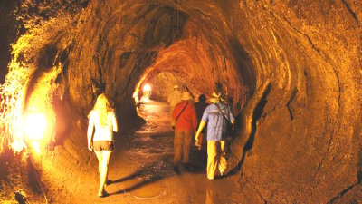 Nahuku Thurston Lava Tube Reopens