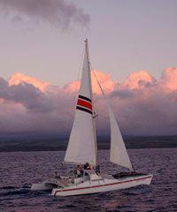 Sunset Cruise - May 2 - Dec 10 - North Shore Catamaran Charters