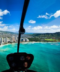 Oahu Hawaii Robinson R44 Helicopter Tours