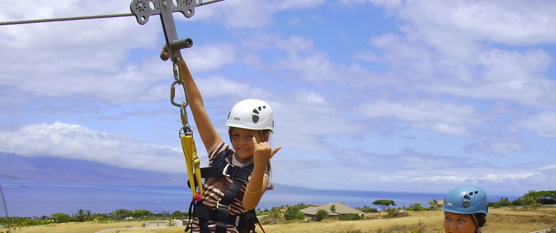 Maui Zipline Tour at Paradise Eco Adventures