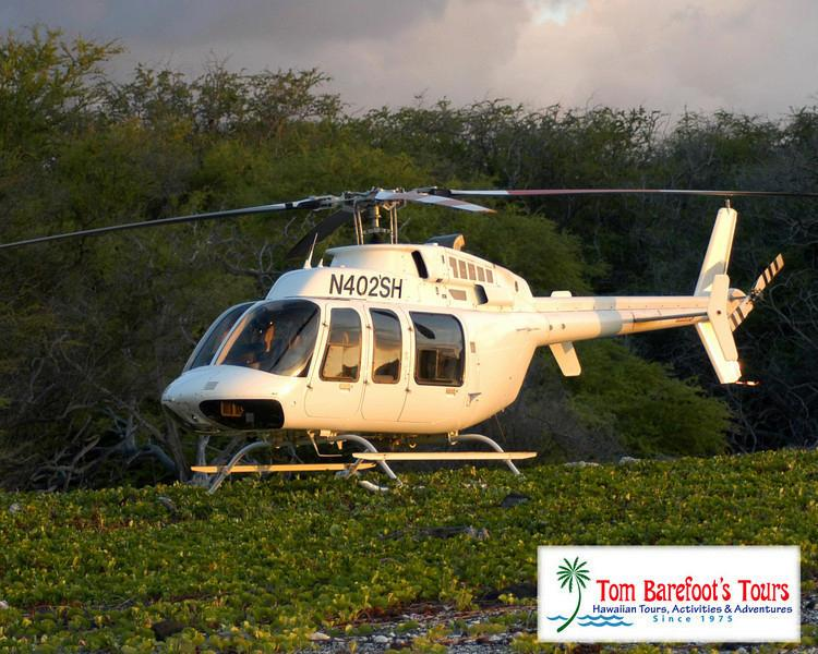 Are there certain regions of the Big Island where helicopter tours are less expensive?