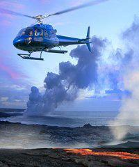 From Oahu (H2) Volcano  Helicopter Combo