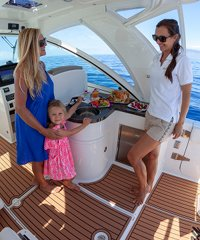 Sea Monkey -  a 32' sport yacht offering private tours