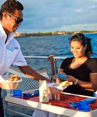 Book the Lahaina Captain Sunset Dinner Sail with Trilogy Excursions