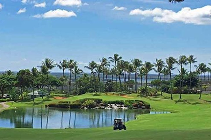 Make reservations for the Waikele Country Club