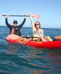 Kayak Snorkel Tour
