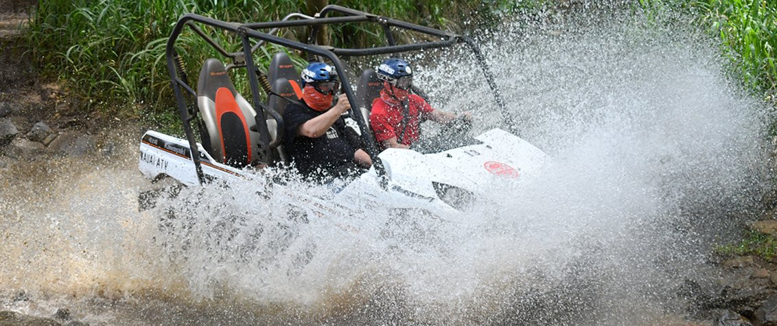 Your ATV Kauai experience is sure to be exciting.