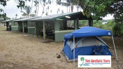 Facilities and Camping at Whittington Beach