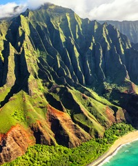 Take one of the Hawaii Air Tours via sightseeing airplane.