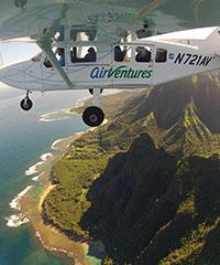 70 min. Private Kauai Air Tour - Air Ventures Hawaii