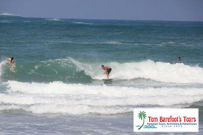 Surfing is Fun at Anahola Beach