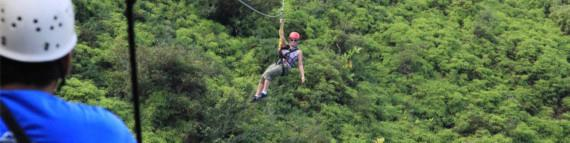 Travel Blog #078 - Kauai's Bouncing Backcountry Zipline (By Jake)