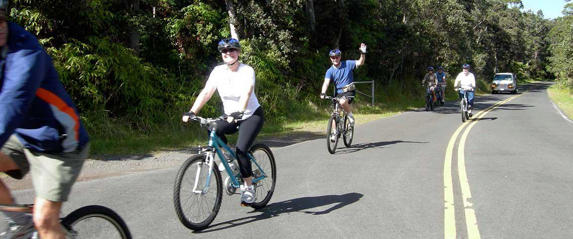 Bike Hawaii Volcano Bike tours on Hawaii