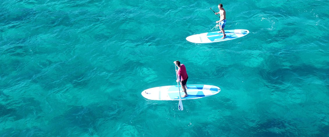 The Big Island has tons of Water Sports.