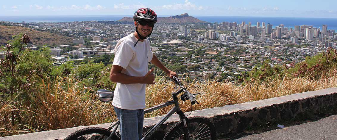 A Oahu bike tour is a great way to discover the island.