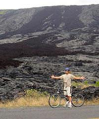 Bike Kilauea Volcano - Bike Volcano