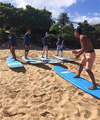 Surf Lesson - Buttons Surf School
