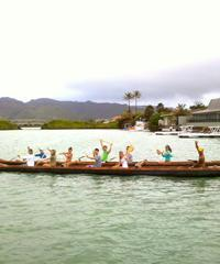 Double Hull Hawaiian Canoe Tour
