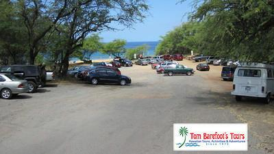 Parking at Po'olenalena Beach