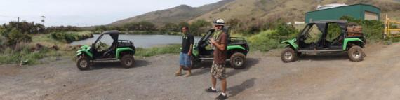 Tom Barefoot's Travel Blog - Exploring Maui's Cane Fields WIth Green Zebra Off Road