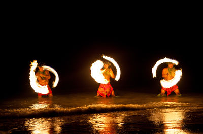 Try Your Luck at finding Fire Knife Dancing on the Mainland!
