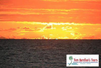 Have you ever seen the green flash during a sunset over the ocean?