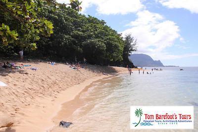 Hideaway S Beach On Kauai Reqires A Steep Hike To Get
