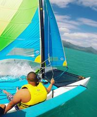 Hobie Catamaran Sailing