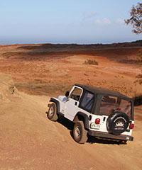 Jeep Rental Package