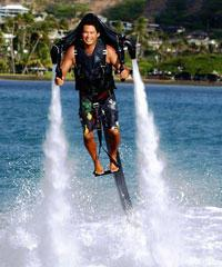 JetLev Flight